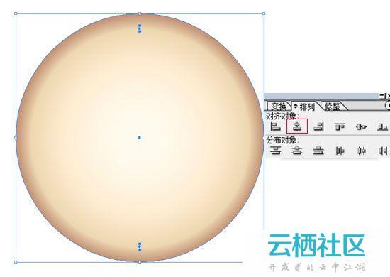 Illustrator利用鼠标简单绘制金色指南针教程-illustrator绘制时钟